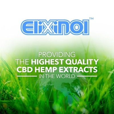 Find out about Elixinol™ and their line of CBD products'